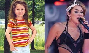 Miley Cyrus và style từ bé đến 'nhớn'