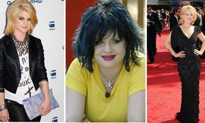 'Bé mập' Kelly Osbourne đã lột xác