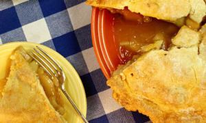 Hấp dẫn với bánh táo sữa chua thơm lừng