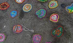 Kiệt tác trên bã kẹo cao su