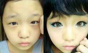 Cách vẽ mắt ngộ nghĩnh của bé 12 tuổi