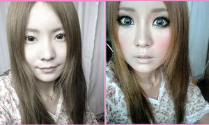 Make up phong cách Shibuya như MC Việt Nga
