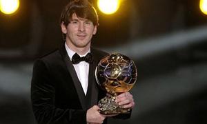 Messi giành Quả bóng vàng FIFA 2010