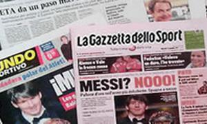 Báo giới Tây Ban Nha phẫn nộ vì Messi