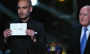 Phát hiện nhầm lẫn trong kết quả kiểm phiếu Quả bóng vàng 2010