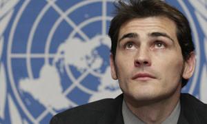 Casillas trở thành đại sứ Liên Hợp Quốc