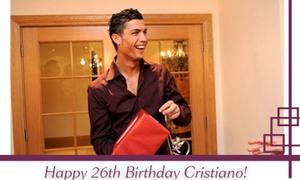 Ronaldo tiết lộ mong ước trong ngày sinh nhật