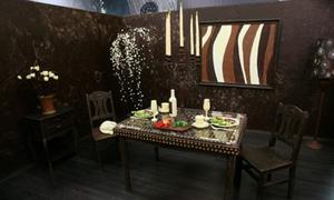 Căn phòng chocolate ngọt lịm