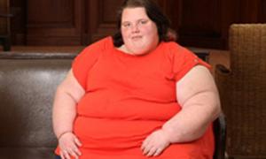 Thiếu nữ béo nhất nước Anh