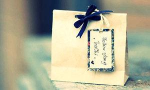 Túi giấy đựng quà cho cô nàng vintage
