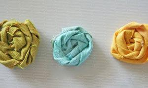 Nhẫn vải cho các nàng ưng xì-tai hoa hoét