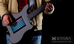 Trải nghiệm guitar điện tử sử dụng màn hình cảm ứng