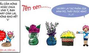 Xem Mr.Kei cắm hoa tặng mẹ này!