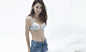 Lee Hyori mê hoặc fan bằng đồ lót CK