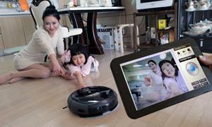 Hút bụi thông minh với Samsung VC-RL87W