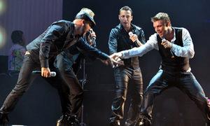 Backstreet Boys gây 'bão' tại Mỹ Đình