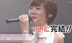Kara vừa hát vừa khóc như mưa trên sân khấu