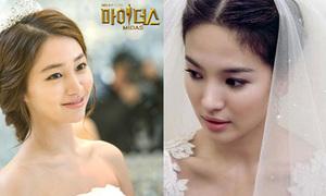 Sao Hàn nào mặc váy cưới đẹp nhất?