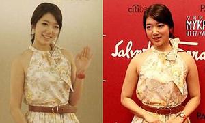 Park Shin Hye bị lật tẩy dùng photoshop giảm béo