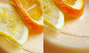 Sinh tố quýt sữa chua ngon 'rụng rời'