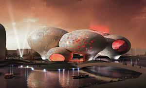 Ghé bảo tàng bong bóng tròn ung ủng ở Trung Quốc ^^