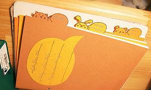 Notebook tự chế xinh xinh ^^