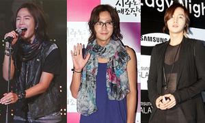 Săm soi phong cách 'gái hóa' của Jang Geun Seuk
