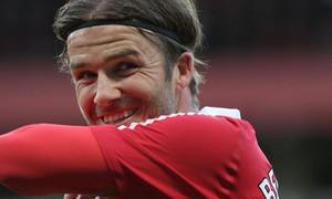 David Beckham tái xuất trong màu áo MU