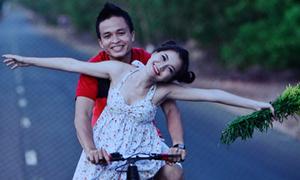 Thanh Ngọc 'cưa sừng' để chụp ảnh cưới