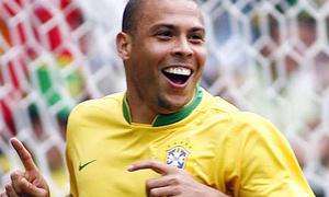 Ronaldo béo chuyền nghề