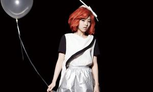 Park Bo Young lạ hoắc với tóc đỏ