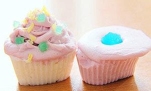 Tự chế xà bông cupcake xinh yêu