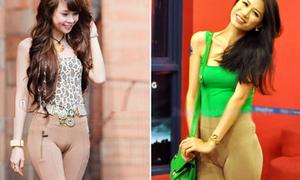 Sao Việt và những chiếc quần 'không biết ngượng'