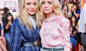 Cặp sinh đôi phá vỡ chuẩn mực thời trang Hollywood