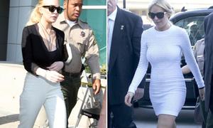 Lindsay Lohan ra tòa vẫn 'lách luật' để ăn diện