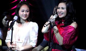 Cô bạn 'Xiu Xiu' xinh đẹp hát hay bên mẹ Thanh Lam