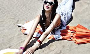 'Pose' hình đẹp chẳng sợ gì nắng biển