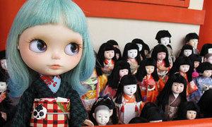 Ám ảnh đền thờ búp bê ở Nhật Bản