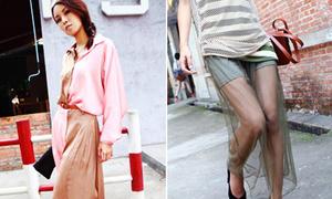 Style đẹp lạ cho teengirl