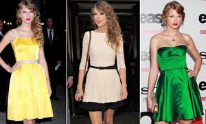 Style đúng chất tiểu thư Hollywood của Taylor Swift