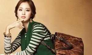 Kim Tae Hee xinh ngất dù diện đồ già dặn