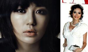 Sao Hàn make up khác gì sao Việt?