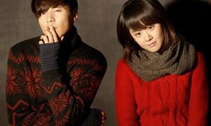 Won Bin - Moon Geun Young ấm áp đồ đông