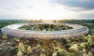 Ngắm trụ sở hình đĩa bay đẹp như mơ của Apple