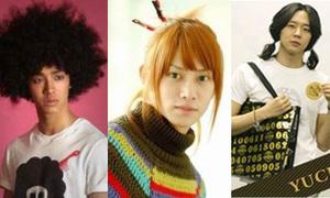 Những kiểu tóc 'khó đỡ' của sao Hàn