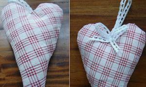 Túi thơm hình trái tim dễ thương