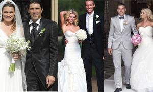 10 đám cưới hè đình đám của các sao thể thao