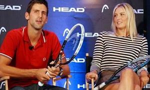 Novak Djokovic giả làm búp bê Masha