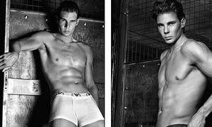 Nadal bán nude khoe body vạm vỡ