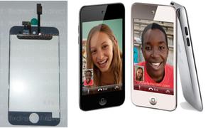 Màn hình iPod Touch thế hệ 5 bản màu trắng lộ diện